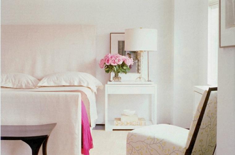 recamaras minimalistas-decoradas-rosa