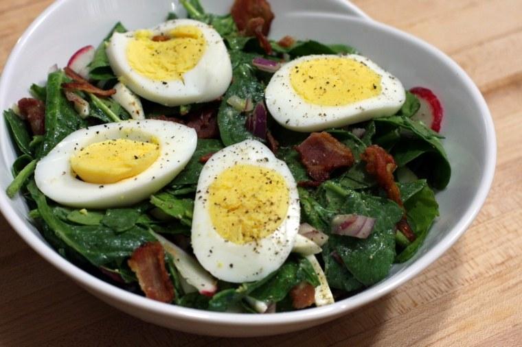 recetas de cocina-ensaladas-espinaca