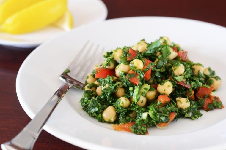 recetas de cocina-espinacas-garbanzos