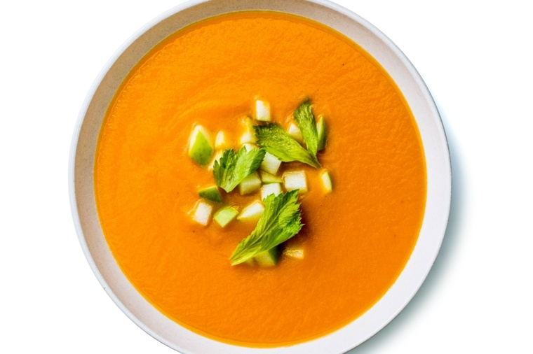 recetas de cocina faciles-sopa-zanahorias