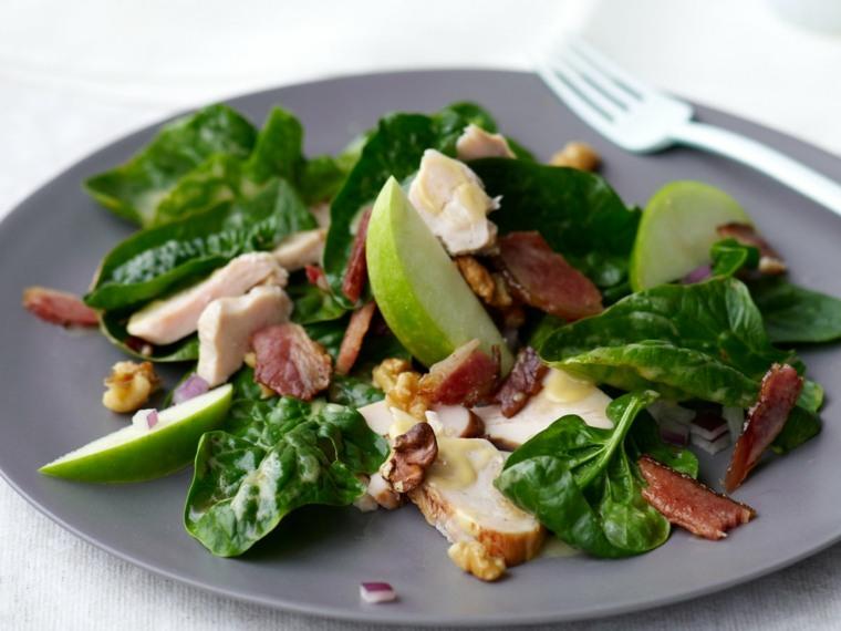 recetas de cocina-hacer-ensaladas-espinaca