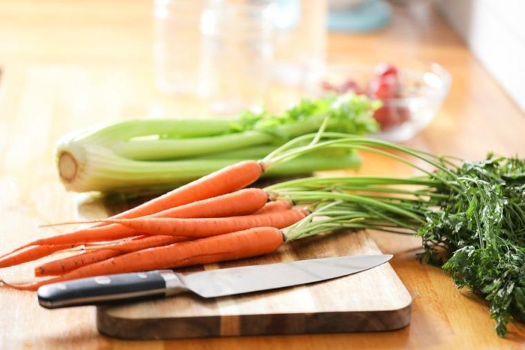 recetas faciles con pollo-verduras