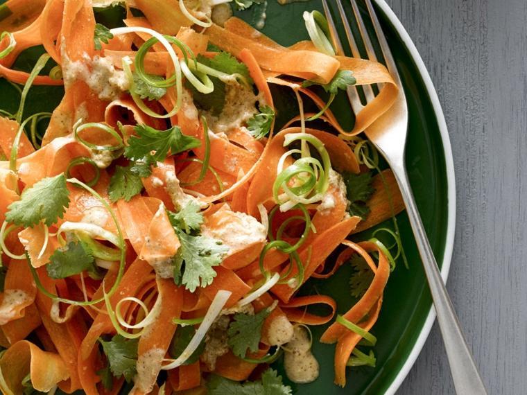 recetas para cocinar-zanahorias-ensaladas