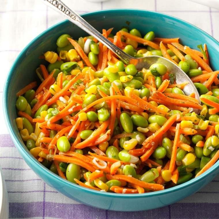 recetas para cocinar-zanahorias-judias-verdes