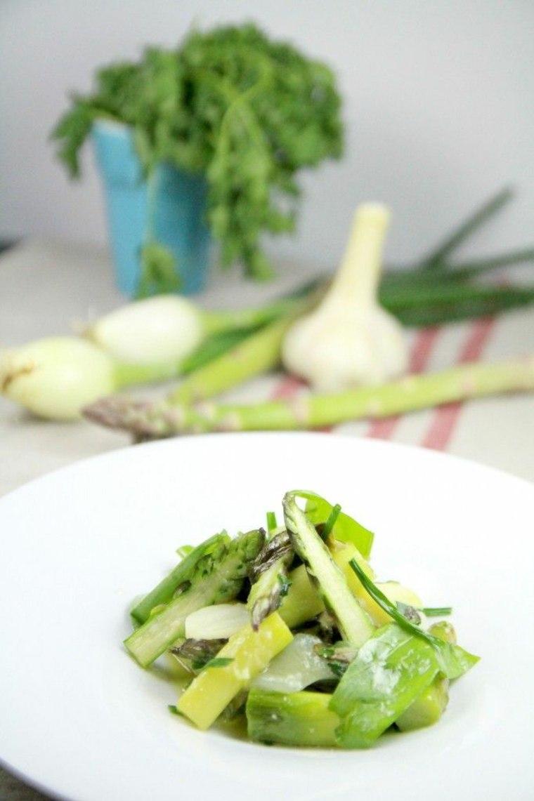 Originales recetas de comida sana de Alain Passard