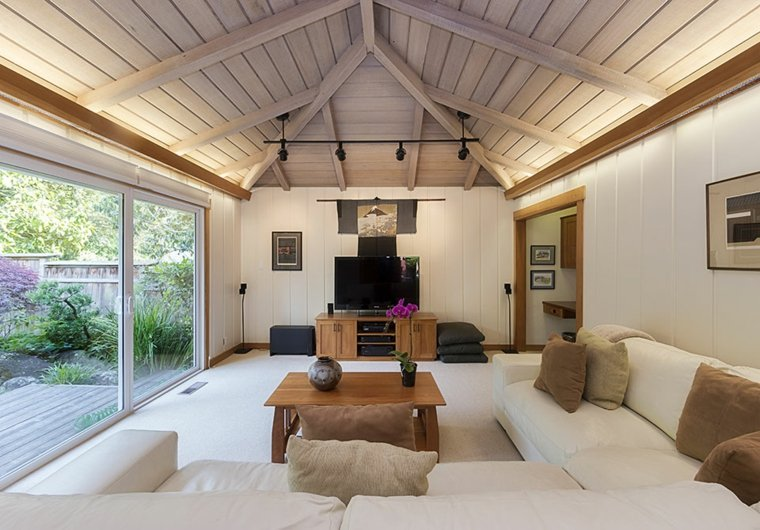 sala de estar sencilla