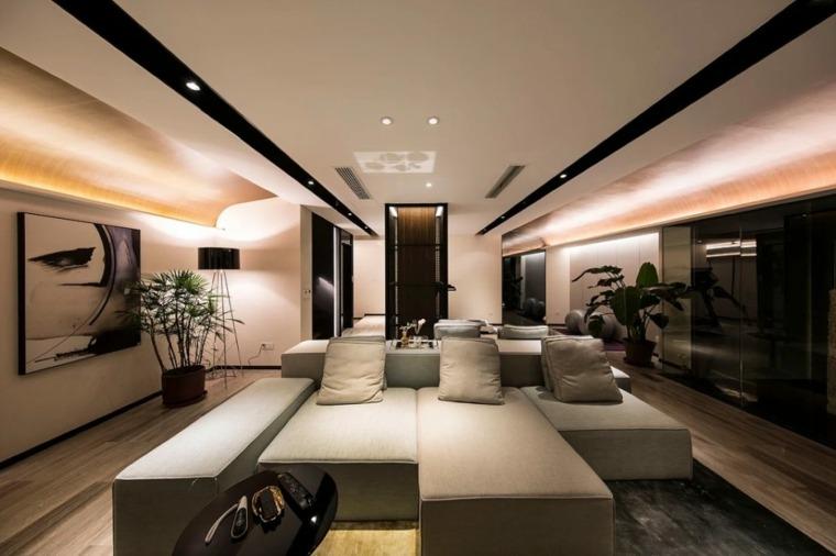 salón de diseño moderno