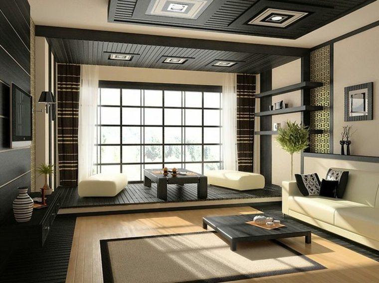 diseño de salón asiático