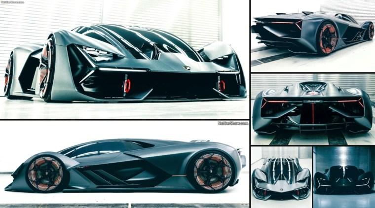 diseño del nuevo Lamborghini Terzo Millennio