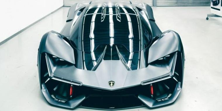diseño Lamborghini Terzo Millennio
