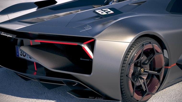 el nuevo Lamborghini Terzo Millennio