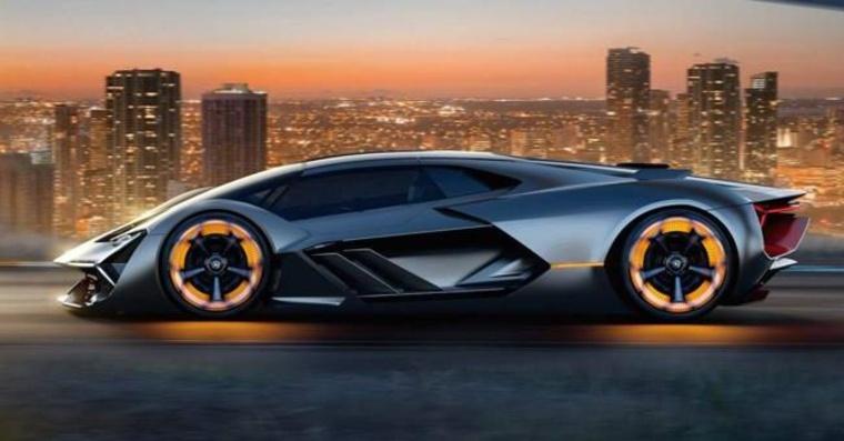 auto Lamborghini Terzo Millennio
