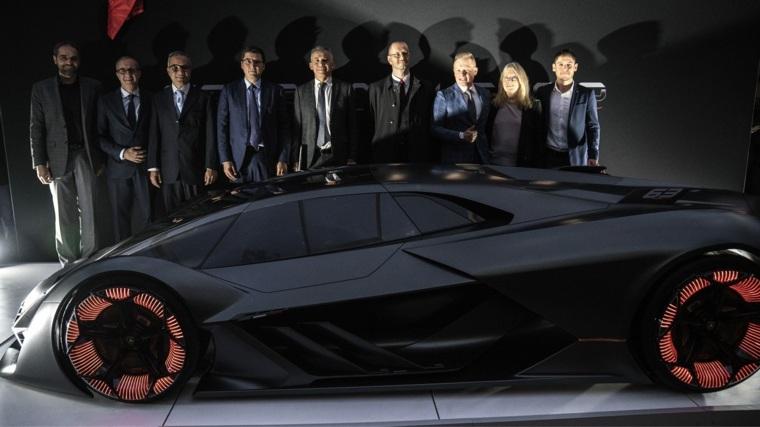 diseño exterior del auto Terzo Millennio
