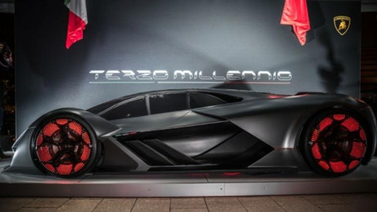 automóvil Terzo Millennio eléctrico