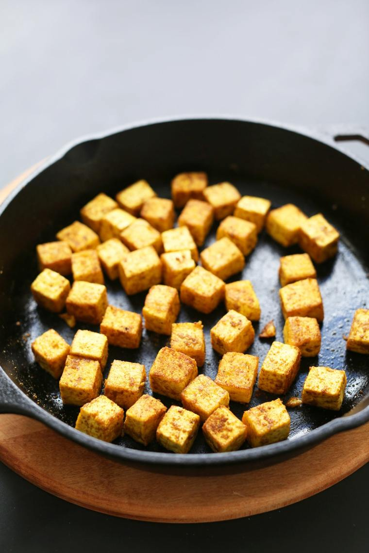 tofu asado-en-sarten