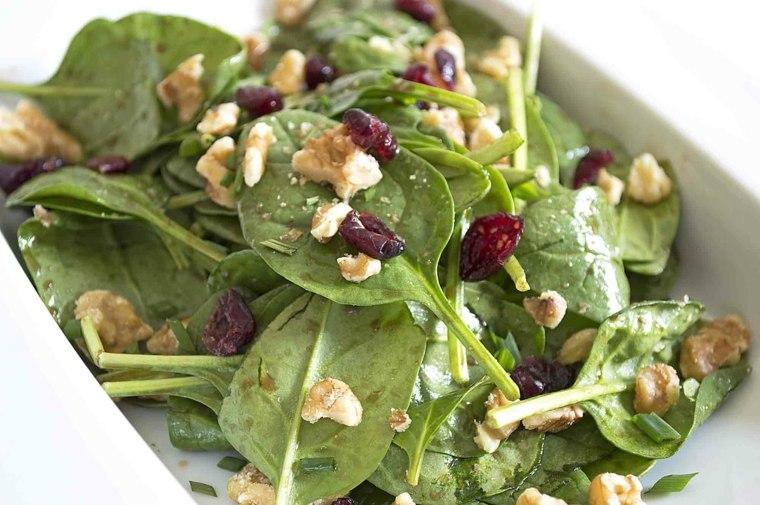 una receta de cocina-saludable-espinaca