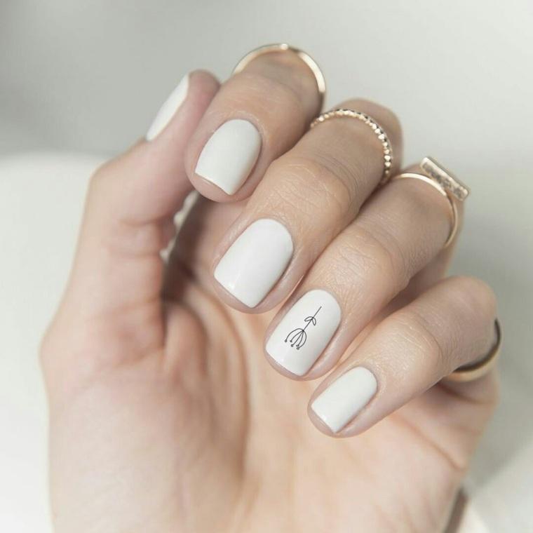 Excepcional Marcas Blancas En Las Uñas Después De La Eliminación De ...