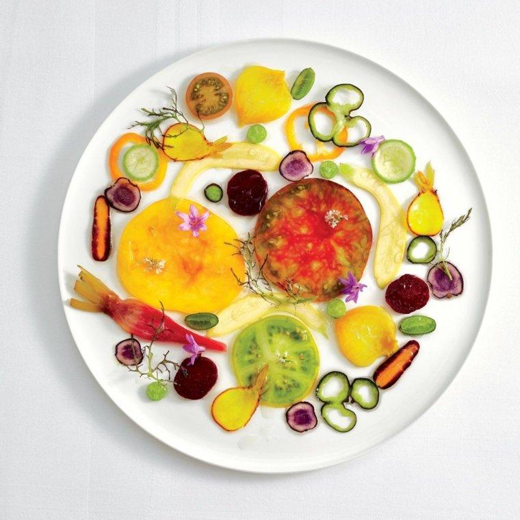 Recetas de Alain Passard con verduras