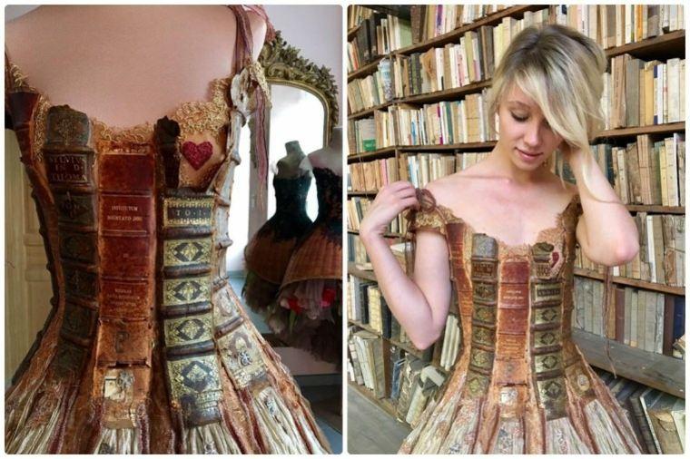 vestidos bonitos libros