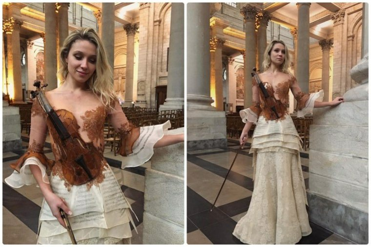 vestidos bonitos violin