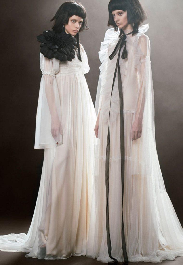 vestidos-novia-detalles-negros-Vera-Wang-2018