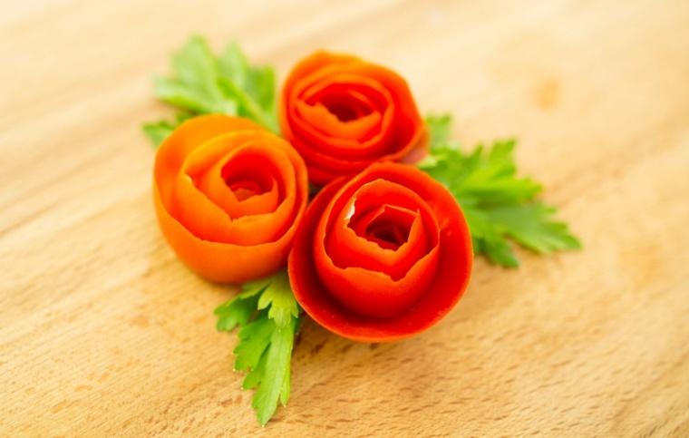 vitaminas de la zanahoria-decoraciones-ensaladas