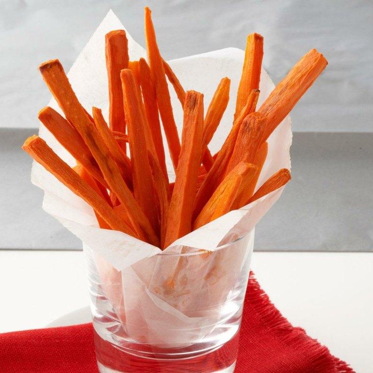 vitaminas de la zanahoria-palitos