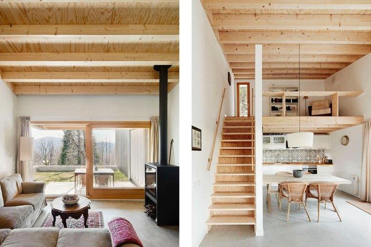 diseño de interior de casa prefabricada