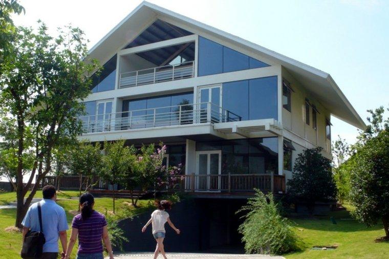 originales diseños de casas prefabricadas modernas