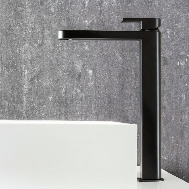 accesorios para banos-elegantes-negros