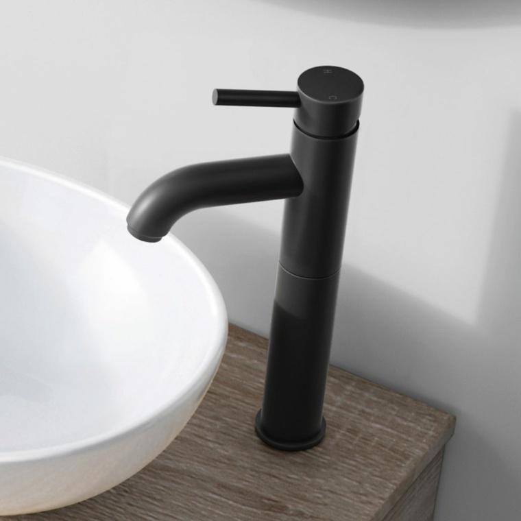 accesorios para banos-originales-grifos-negros