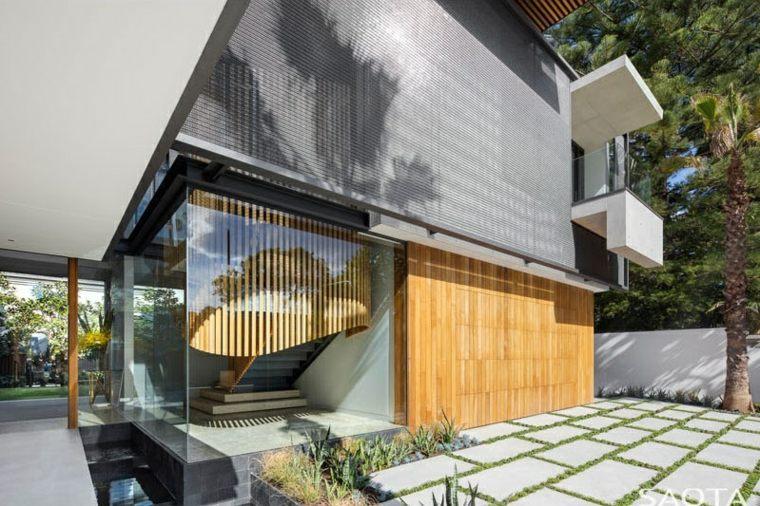 ambientes conectados exteriores casa