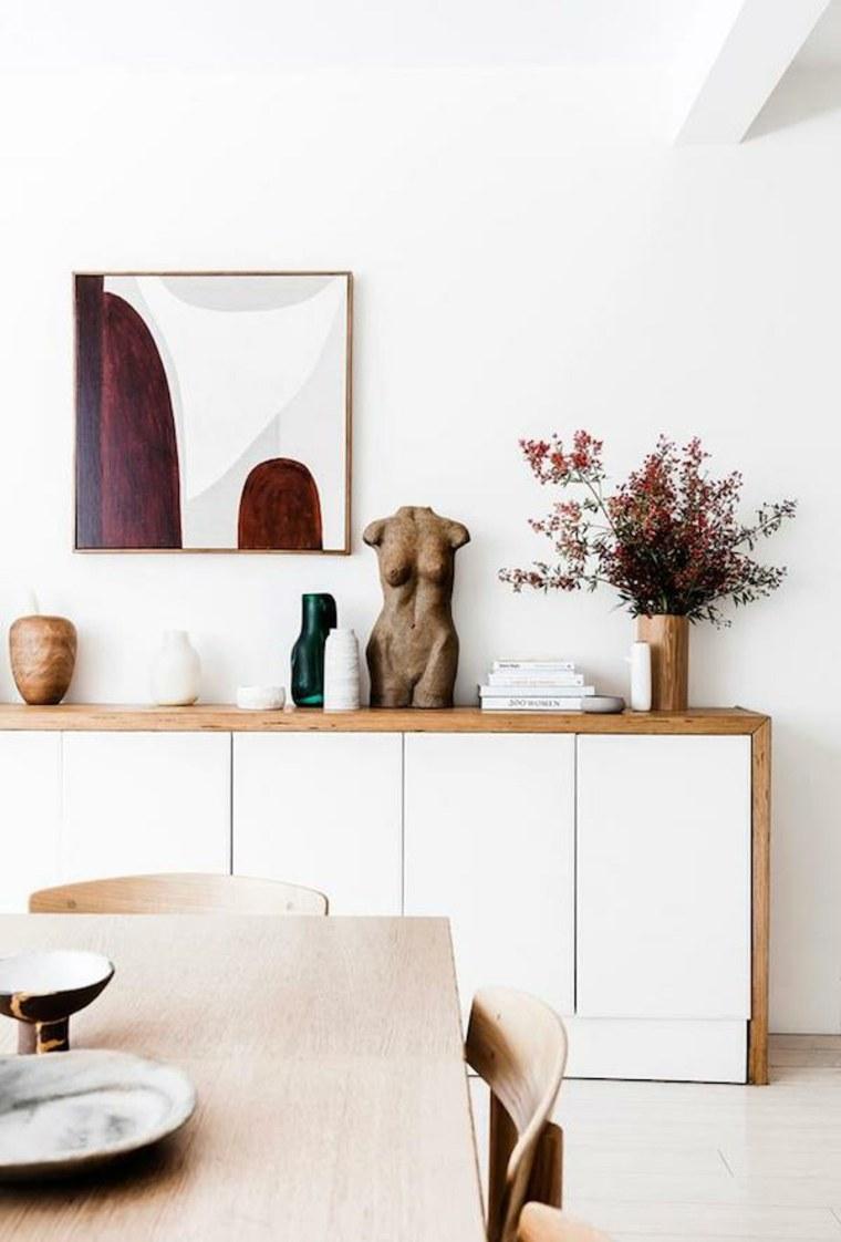 aparadores y vitrinas decoración