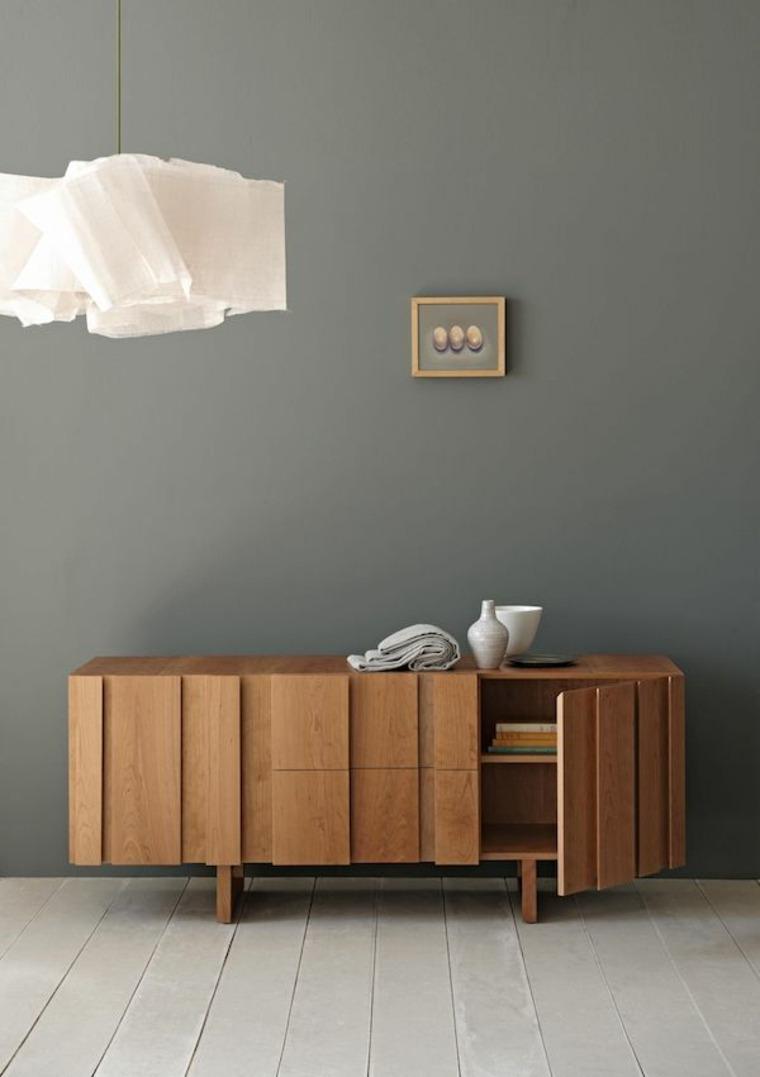 aparadores y vitrinas minimalismo