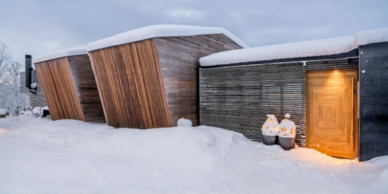 arquitectura moderna ideas cabana