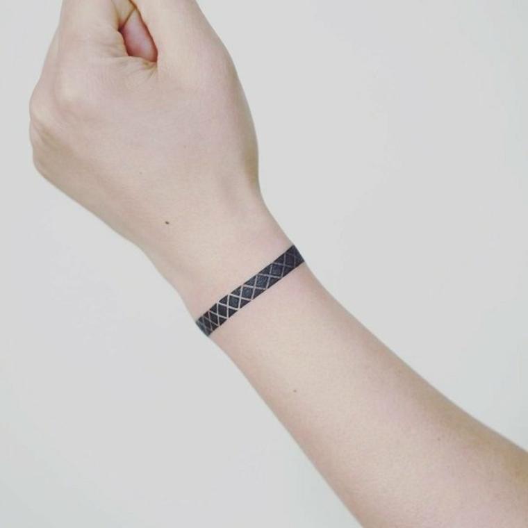 diseño de tatuaje pulsera