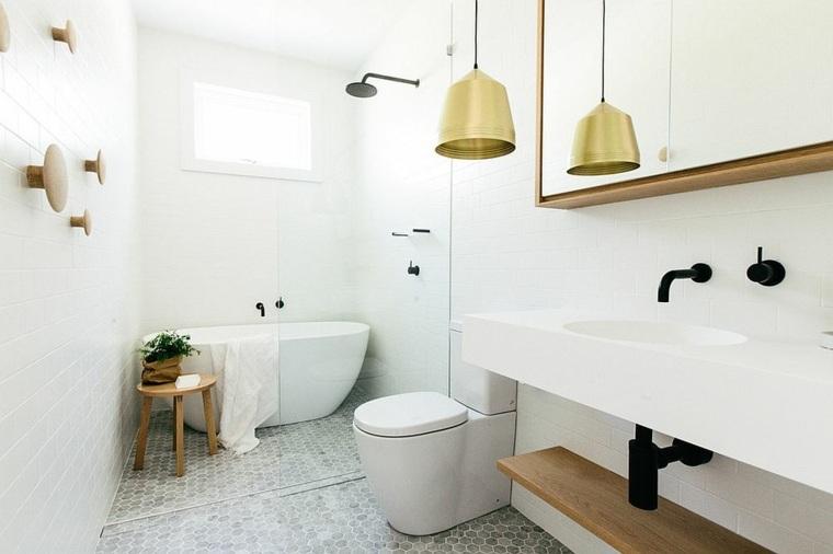 baños modernos escandinavos