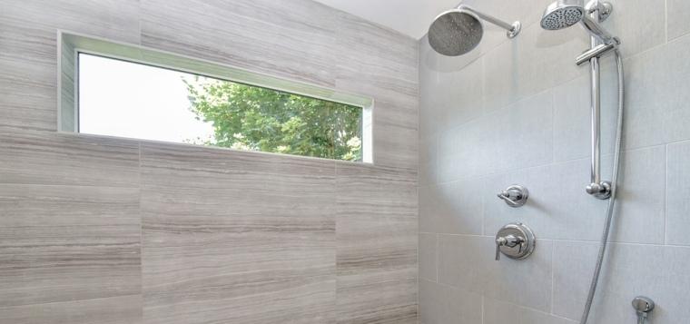 baños modernos pared-de-acento