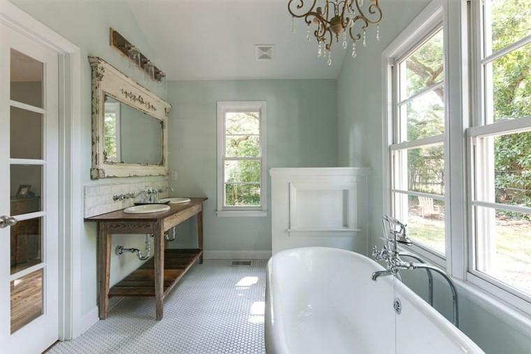 baños modernos vintage