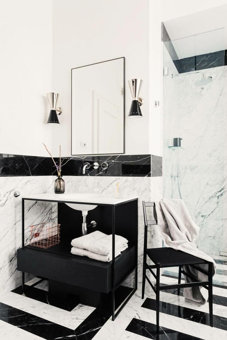 bano-apartamento-blanco-negro-diseno