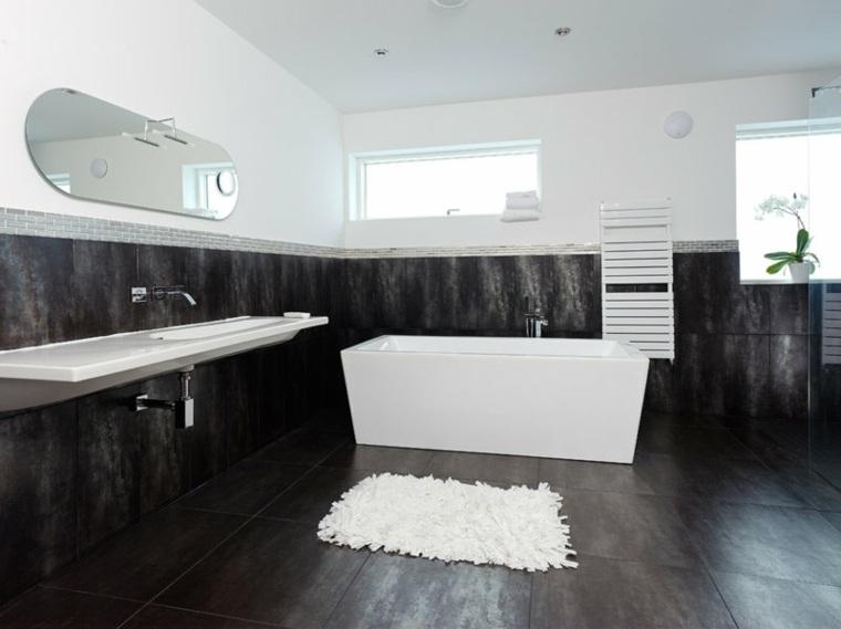 banos-blanco-negro-diseno-estilo-moderno