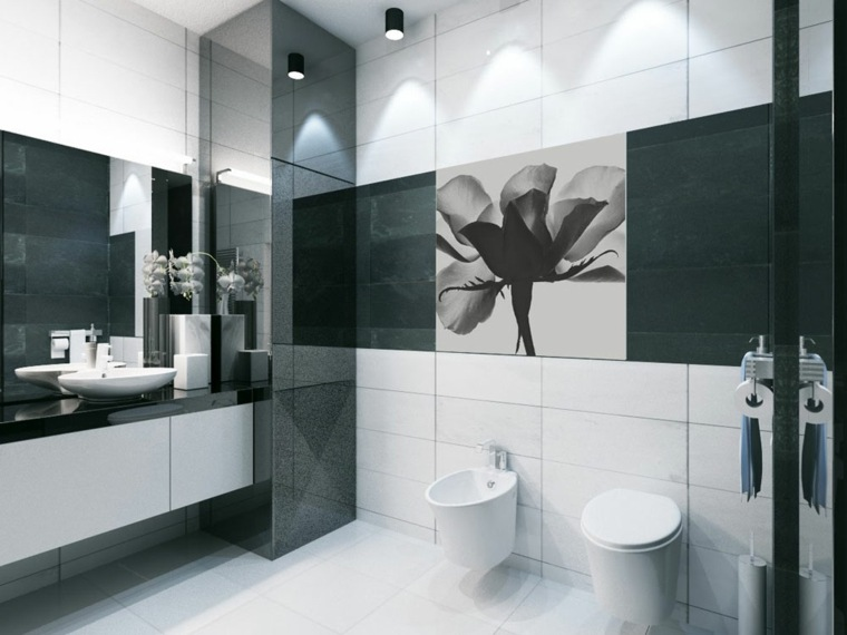 banos-blanco-negro-diseno-moderno