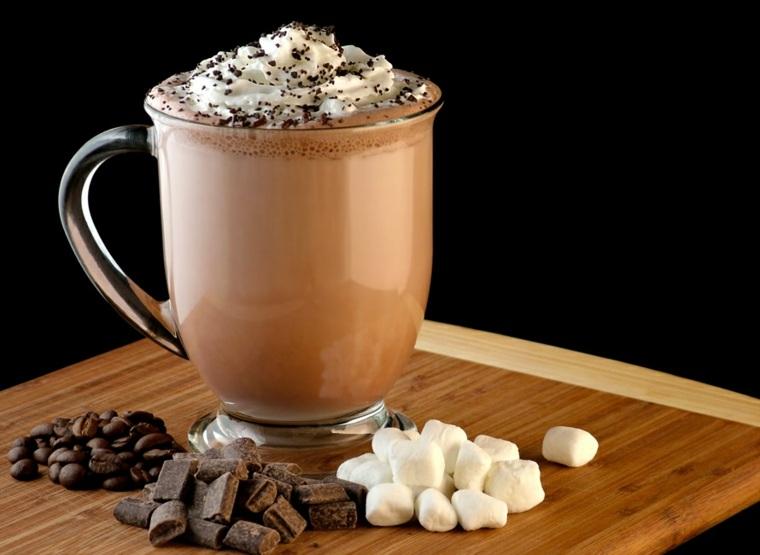 bebidas sin alcohol café-helado