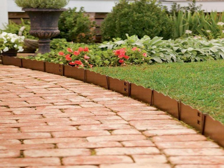 Mini valla en el jardín