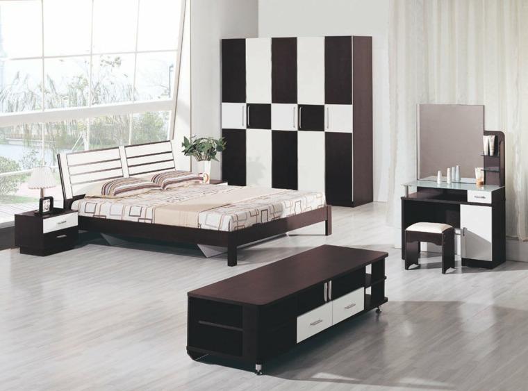cabeceras de madera-dormitorios-modernos