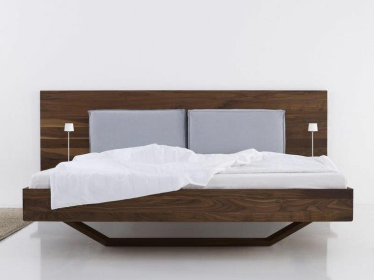 cabeceras de madera para cama-dormitorio