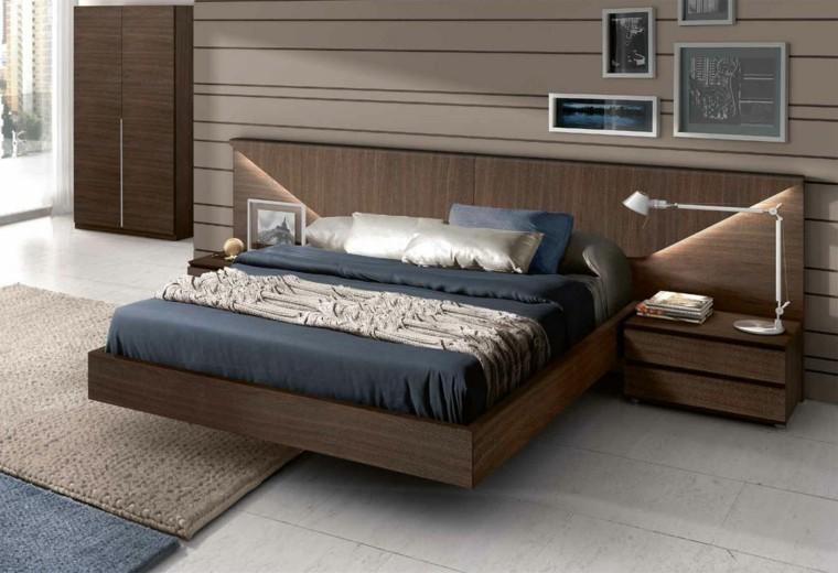 cabeceros camas-madera-modernas