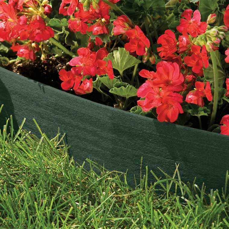 delimitar jardines con barreras