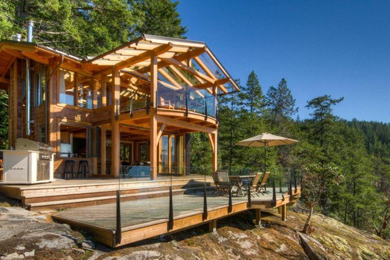 ideas de diseño y decoración de porches
