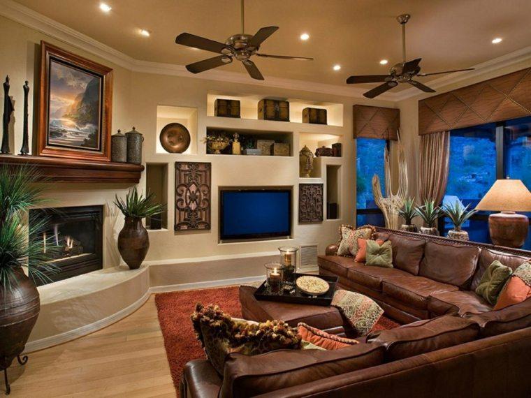 casas modernas-interiores-estilo-mediterraneo
